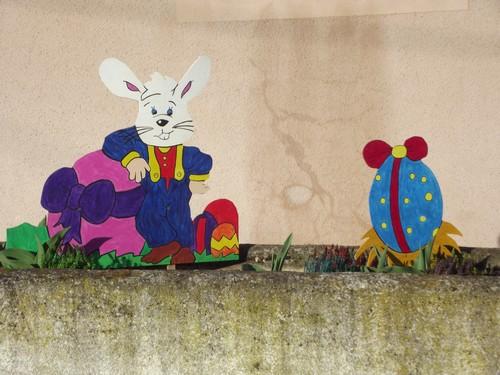 lapins-poule